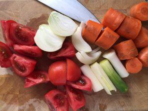 Gemüse Rinderfond